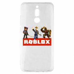 Чехол для Xiaomi Redmi 8 Roblox Heroes