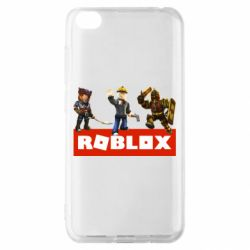 Чехол для Xiaomi Redmi Go Roblox Heroes