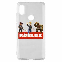 Чехол для Xiaomi Redmi S2 Roblox Heroes