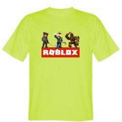 Мужская футболка Roblox Heroes