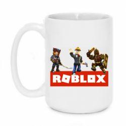 Кружка 420ml Roblox Heroes