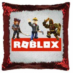 Подушка-хамелеон Roblox Heroes