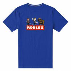 Мужская стрейчевая футболка Roblox Heroes