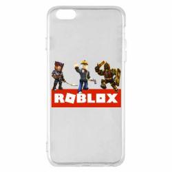 Чехол для iPhone 6 Plus/6S Plus Roblox Heroes