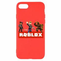 Чехол для iPhone 7 Roblox Heroes