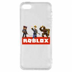 Чехол для iPhone5/5S/SE Roblox Heroes