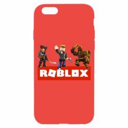 Чехол для iPhone 6/6S Roblox Heroes