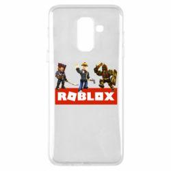 Чехол для Samsung A6+ 2018 Roblox Heroes