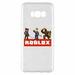 Чехол для Samsung S8 Roblox Heroes
