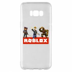 Чехол для Samsung S8+ Roblox Heroes