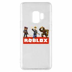 Чехол для Samsung S9 Roblox Heroes