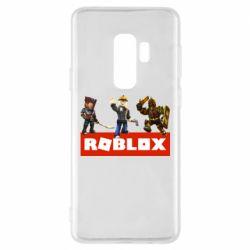 Чехол для Samsung S9+ Roblox Heroes