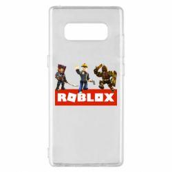 Чехол для Samsung Note 8 Roblox Heroes