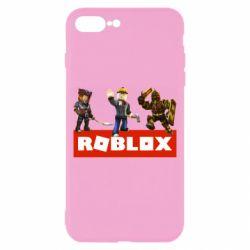 Чехол для iPhone 8 Plus Roblox Heroes
