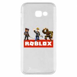 Чехол для Samsung A5 2017 Roblox Heroes