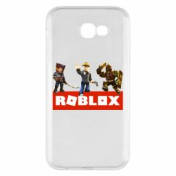 Чехол для Samsung A7 2017 Roblox Heroes
