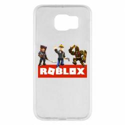 Чехол для Samsung S6 Roblox Heroes