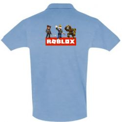 Мужская футболка поло Roblox Heroes