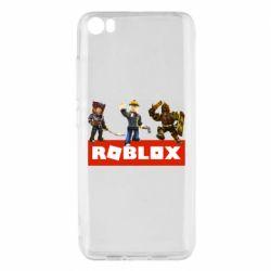 Чехол для Xiaomi Mi5/Mi5 Pro Roblox Heroes