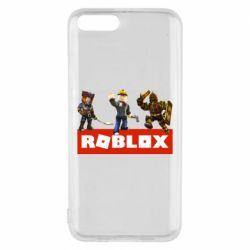 Чехол для Xiaomi Mi6 Roblox Heroes