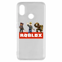Чехол для Xiaomi Mi8 Roblox Heroes