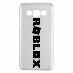 Чехол для Samsung A3 2015 Roblox inscription