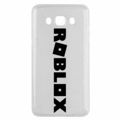 Чехол для Samsung J5 2016 Roblox inscription