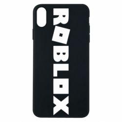Чехол для iPhone Xs Max Roblox inscription