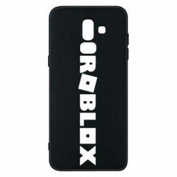 Чехол для Samsung J8 2018 Roblox inscription