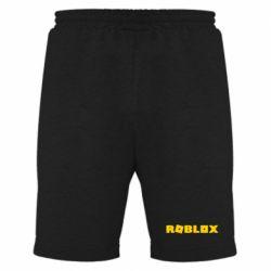 Мужские шорты Roblox inscription
