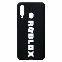 Чехол для Samsung A60 Roblox inscription