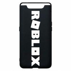 Чехол для Samsung A80 Roblox inscription