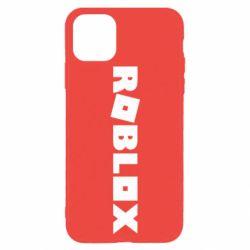 Чехол для iPhone 11 Pro Max Roblox inscription