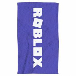 Полотенце Roblox inscription