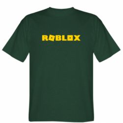 Мужская футболка Roblox inscription