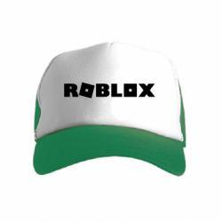 Детская кепка-тракер Roblox inscription
