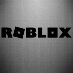 Наклейка Roblox inscription
