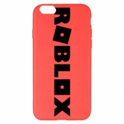 Чехол для iPhone 6 Plus/6S Plus Roblox inscription