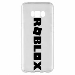 Чехол для Samsung S8+ Roblox inscription