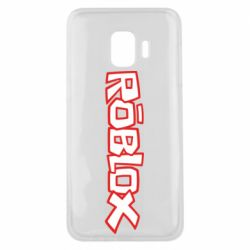 Чехол для Samsung J2 Core Roblox logo