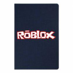 Блокнот А5 Roblox logo