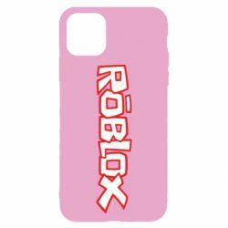 Чехол для iPhone 11 Roblox logo