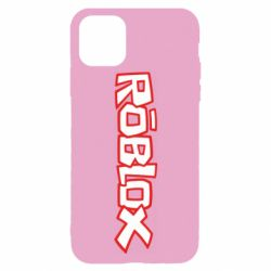 Чехол для iPhone 11 Pro Roblox logo