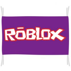 Флаг Roblox logo