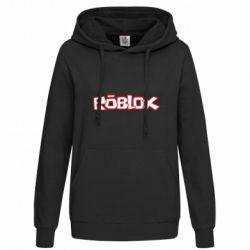 Женская толстовка Roblox logo