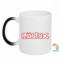 Кружка-хамелеон Roblox logo