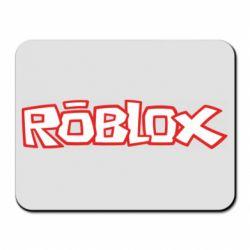 Коврик для мыши Roblox logo
