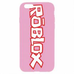 Чехол для iPhone 6 Plus/6S Plus Roblox logo