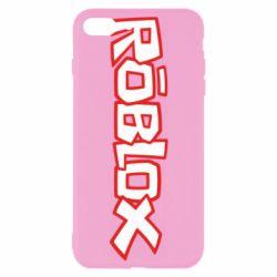 Чехол для iPhone 7 Plus Roblox logo