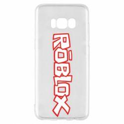 Чехол для Samsung S8 Roblox logo